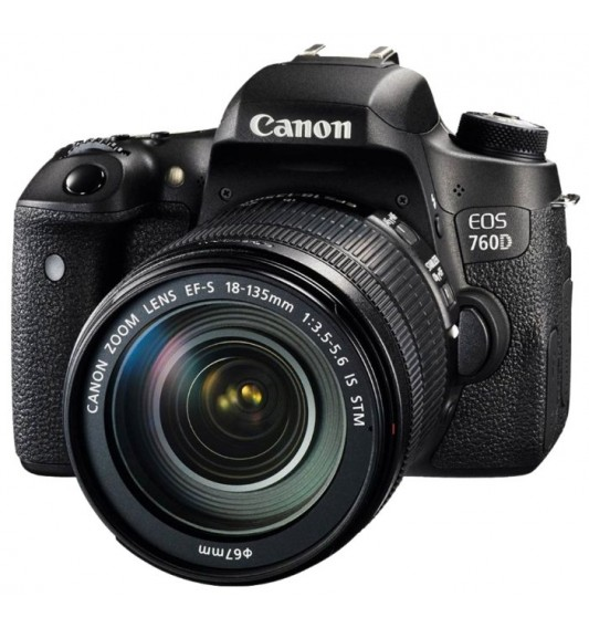 Canon EOS 760D Kit 18-135mm f/3.5-5.6 IS STM