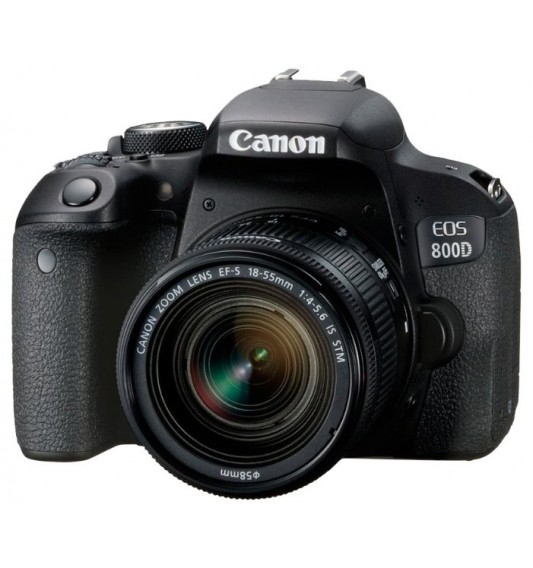 Canon EOS 800D Kit 18-135mm f/3.5-5.6 IS STM