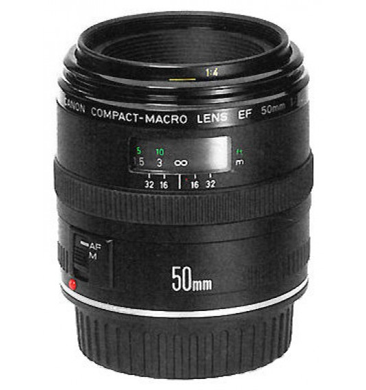 Canon EF 50mm f/2.5 Compact Macro